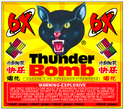 Thunder Bomb was released in October 2000